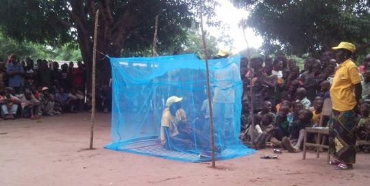 """Projecto """"Melhorar a saúde da população em 6 comunidades no distrito de Sanga"""""""