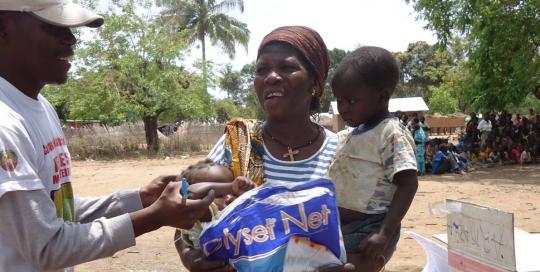 Projecto de Prestação de Serviços de Saúde (PPSS) baseado na Comunidade, sub-componente de Nutrição